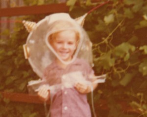 The Spaceman as a boy (photo supplied.)